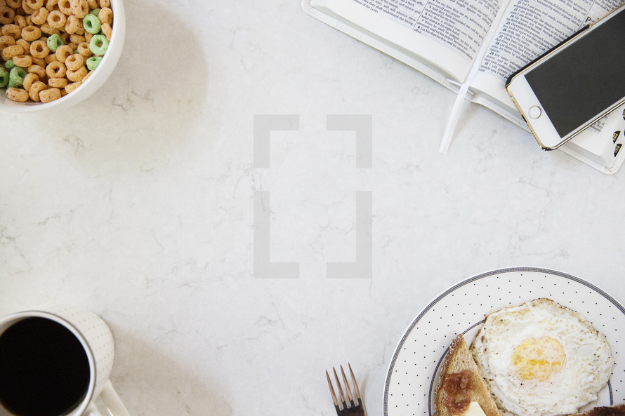 breakfast with a Bible