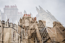 cathedral double exposure