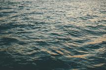 choppy water background