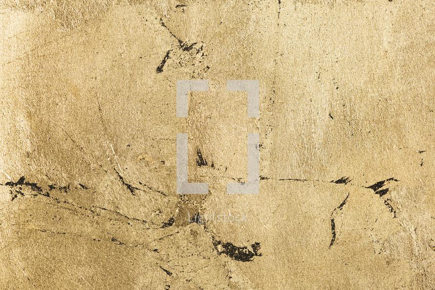 gold foil texture.