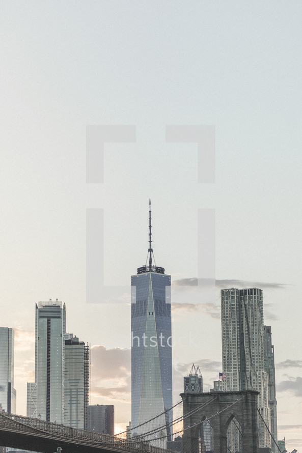 Cityscape in NYC