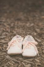 cream sneakers