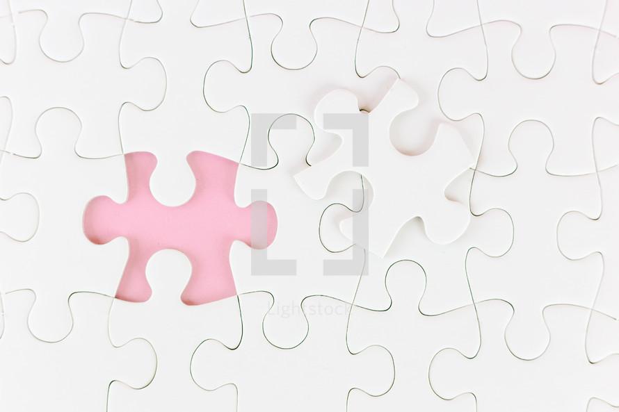 missing puzzle piece found