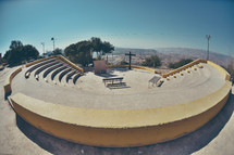 outdoor amphitheater church