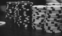stack of pocket chips