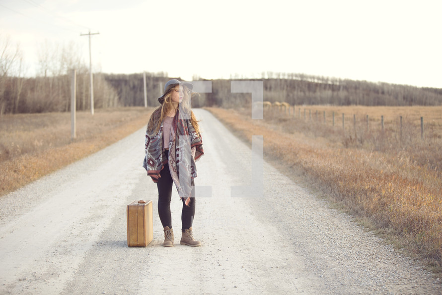 a young woman ready to go into the world