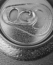 condensation on a soda can