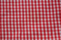 red and white gingham background