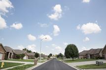 a neighborhood street