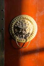 brass dragon door knob