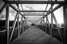 boardwalk, walkway, walking bridge