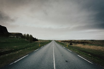 lonely road ahead