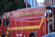 Las Vegas heavy rescue truck