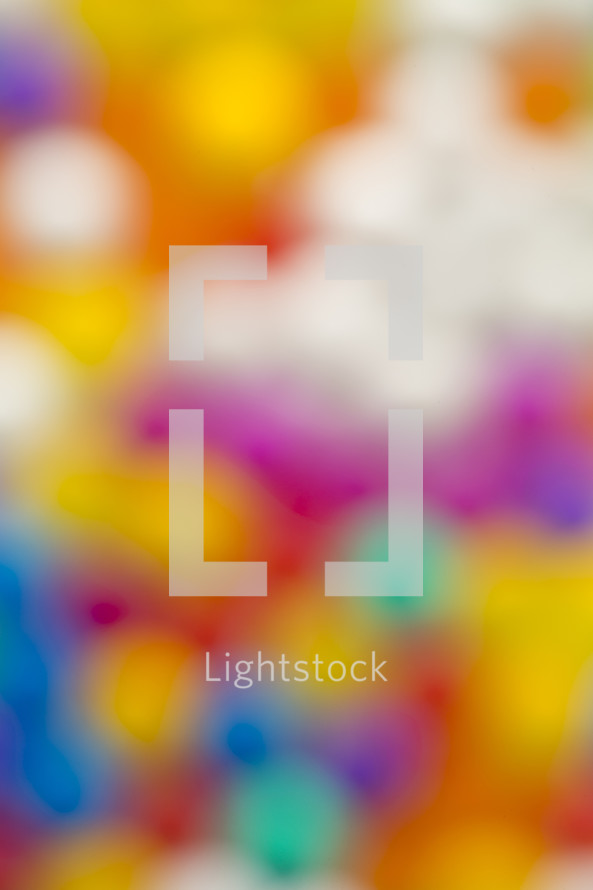 colorful blurry background