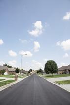 a neighbor hood street