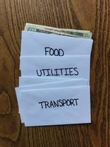 budgeting envelopes