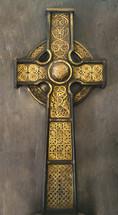 a golden cross