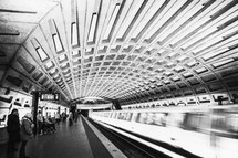 inside a subway