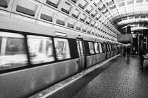 inside a subway terminal