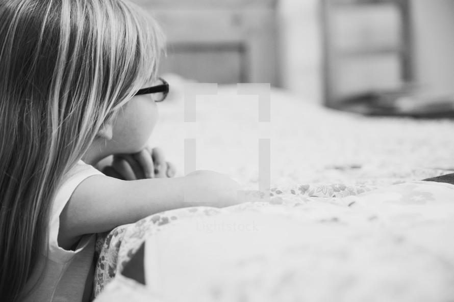 girl child watching
