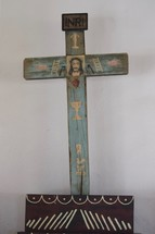 handmade wooden cross in Mexico