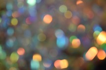 pastel soft colorful bokeh lights background