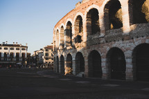 Colosseum walls