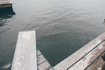 diving board on a dock