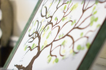 family tree painting