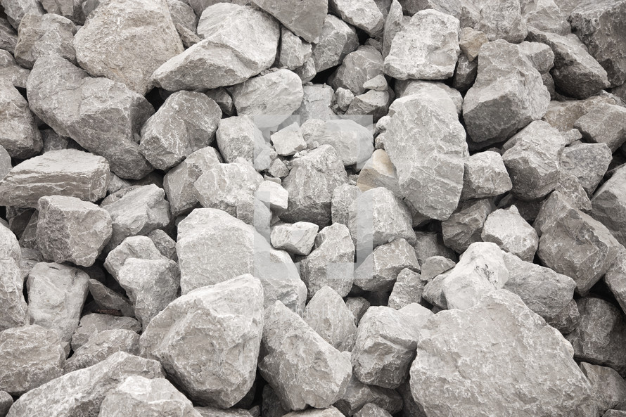 large gray rocks background