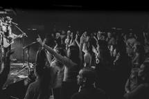 worship leaders on stage