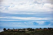 homes along the Orange County shoreline