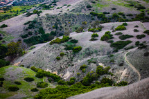 path on a mountainside