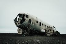 airplane crash site