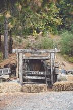 closed mine
