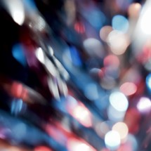 red, white, and blue bokeh lights background