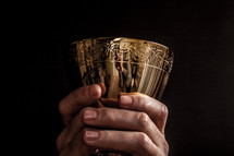 chalice at Eucharist