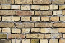 Rustic brick wall
