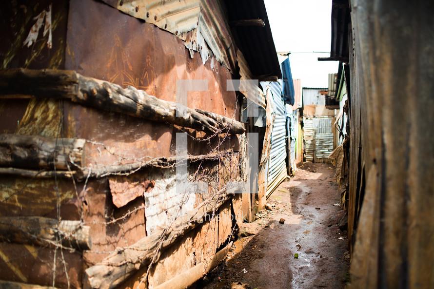 slums in Africa