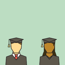 Graduates Icons.