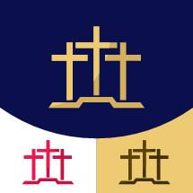 three cross logo