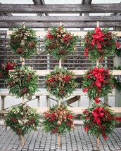 Christmas wreaths for sale