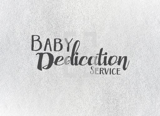 Baby dedication service — Vector — Lightstock