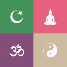 religions icons.