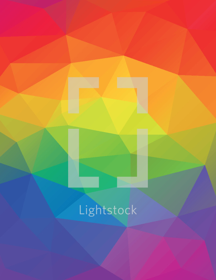 rainbow abstract geometric background