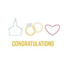 wedding congratulations
