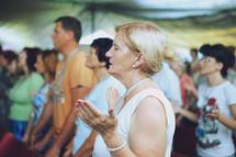 prayer at worship