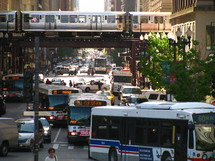 Chicago traffic.