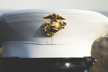 marine dress hat