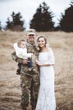 military family portrait